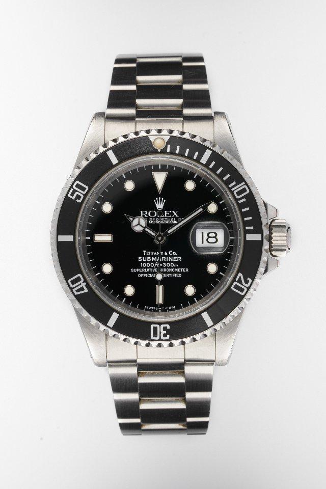 Rolex Submariner Date 16610 1991 подержанные