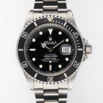 Rolex Submariner Date Stahl 40mm Schwarz Keine Ziffern Schweiz, Zurich