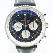 Breitling Navitimer 1 B01 Chronograph 43 usados 43mm Negro Cronógrafo Fecha Piel