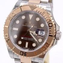 Rolex Yacht-Master 40 Gold/Steel 40mm Brown