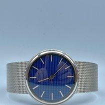 Patek Philippe Calatrava White gold 34.5mm Blue