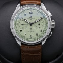Breitling Steel 40mm Green