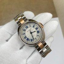 Cartier Clé de Cartier Acier 35mm Argent Romains