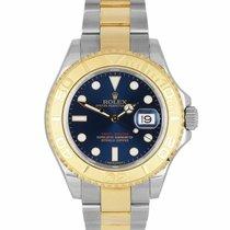 Rolex Yacht-Master 40 Gold/Steel 40mm Blue United States of America, New York, Massapequa Park