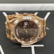 Rolex Day-Date II Rose gold 41mm Brown Roman numerals United Kingdom, London
