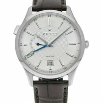 Zenith Elite Dual Time new Automatic Watch with original box 03.2130.682/02.C498