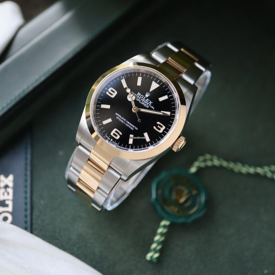 Rolex Explorer 124273 2021 nieuw