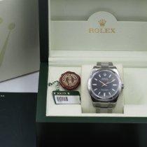 Rolex Milgauss Acciaio 40mm Nero Senza numeri Italia, Andria