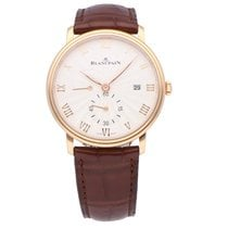 Blancpain Red gold 40mm Manual winding 6606-3642-55A new