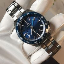 Seiko Grand Seiko Steel 40.5mm Blue