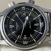 Longines Steel 42mm Automatic L37744506 pre-owned
