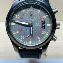 IWC Pilot Chronograph Top Gun Miramar IW388002 Very good Ceramic 46mm Automatic