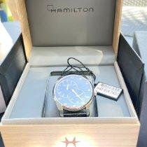 Hamilton Jazzmaster Regulator Steel 42mm Blue