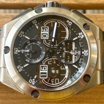 IWC Ingenieur Perpetual Calendar Digital Date-Month Titan 46mm Svart