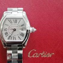 Cartier Roadster Ocel 31mm Bílá Římské