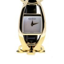 Gucci Желтое золото 21.5mm Кварцевые YA123504 новые