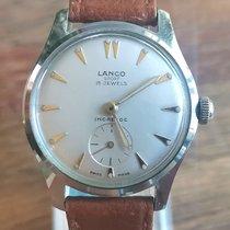 Lanco Steel 31mm Manual winding pre-owned
