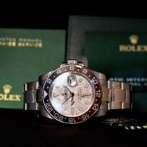 Rolex GMT-Master II White gold 40mm Grey No numerals Malaysia, Kuala Lumpur