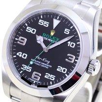 Rolex Air King Steel 40mm Black Arabic numerals