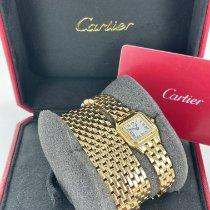 Cartier Panthère Желтое золото 20mm Cеребро