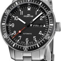 Fortis B-42 Official Cosmonauts new Automatic Watch with original box and original papers 647.10.11 M