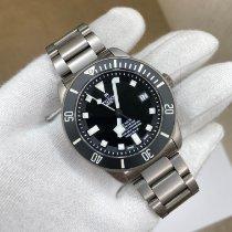 Tudor Pelagos Titanium 42mm Zwart Geen cijfers