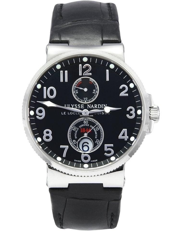 Ulysse Nardin Marine Chronometer 41mm 263-66 2011 ikinci el