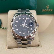Rolex Datejust II Acero 41mm Gris Sin cifras España