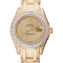 Rolex Lady-Datejust Pearlmaster новые 1999 Автоподзавод Часы с оригинальными документами и коробкой 80308