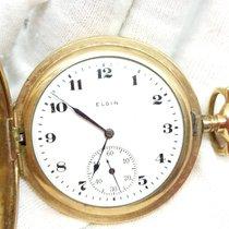 Elgin Oro amarillo 48mm Cuerda manual 20982926 usados