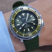 Seiko Prospex Otel 43.2mm Verde Fara cifre