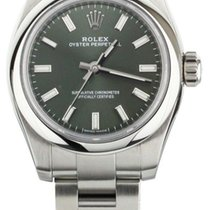 Rolex Oyster Perpetual 26 Steel 26mm Green United States of America, Illinois, BUFFALO GROVE