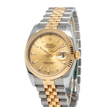 Rolex Datejust Steel 36mm Champagne United States of America, New York, Hartsdale