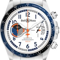 Bell & Ross Steel 41mm Automatic BR V2 new