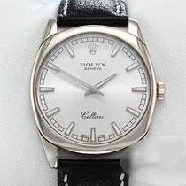 Rolex Cellini Danaos Zlato/Zeljezo 38mm Srebro Bez brojeva