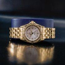Breitling Callistino Желтое золото Перламутровый