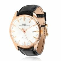 Ball Trainmaster Rose gold 39mm Silver United States of America, New York, New York