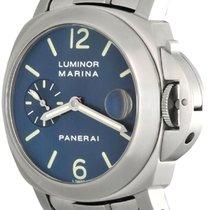 Panerai Luminor Marina Automatic Steel 40mm Blue Arabic numerals United States of America, Texas, Dallas