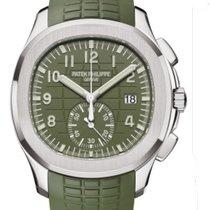 Patek Philippe White gold Automatic Green new Aquanaut