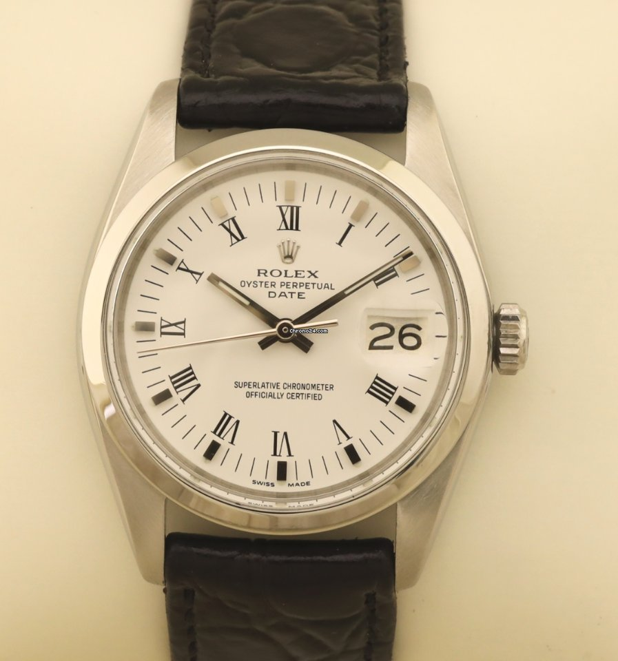 Rolex Oyster Perpetual Date 1500 1977 pre-owned