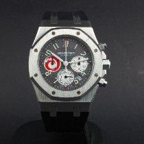 Audemars Piguet Platinum Automatic Grey pre-owned Royal Oak Chronograph