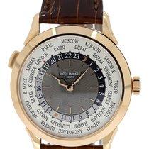 Patek Philippe World Time Rose gold 38.5mm Grey