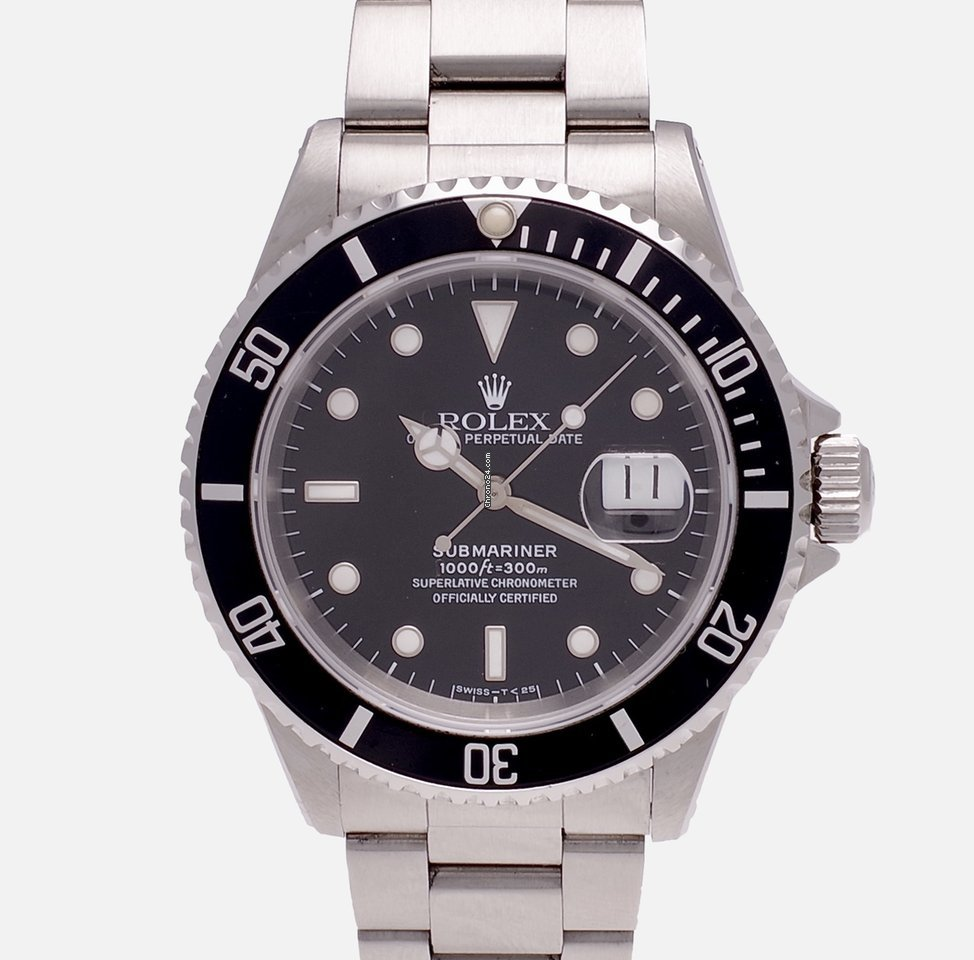 Rolex Submariner Date 16610 S 1994 pre-owned