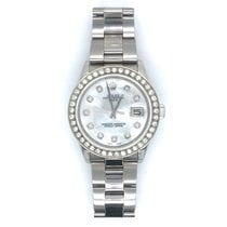 Rolex Oyster Perpetual Date Steel 34mm Mother of pearl No numerals United States of America, Georgia, Atlanta