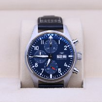 IWC Pilot Chronograph Steel 41mm Blue Arabic numerals
