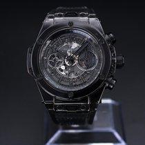 Hublot Big Bang Unico 411.JB.4901.RT Très bon Carbone 45mm Remontage automatique