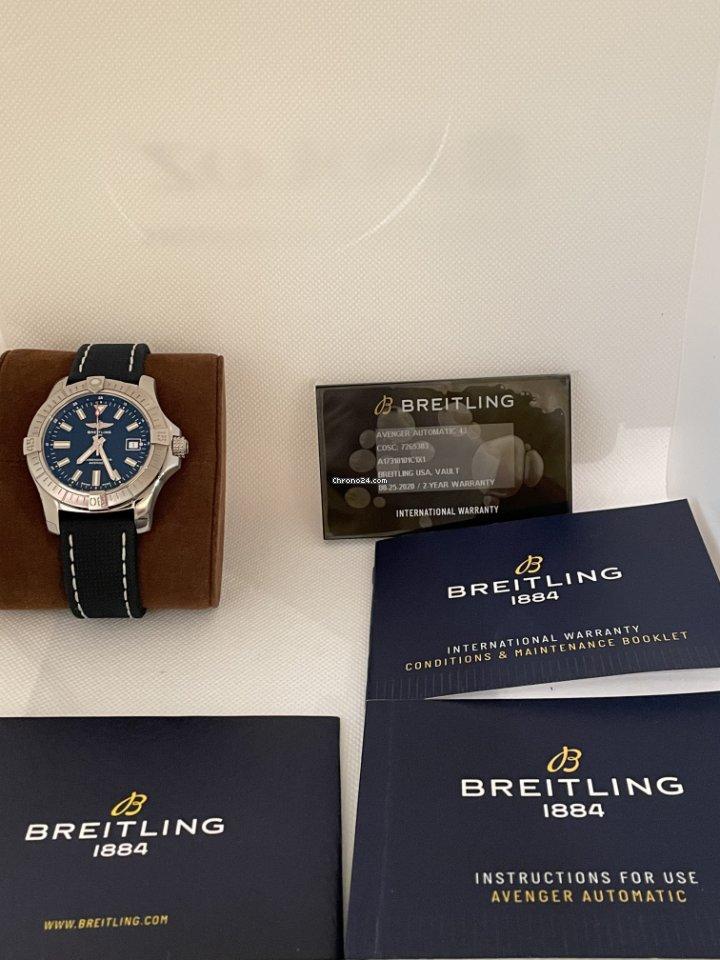 Breitling Avenger II A17318101C1X1 2021 подержанные