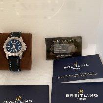 Breitling Avenger II Steel 43mm Blue No numerals United States of America, Virginia, Vienna