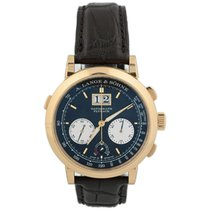 A. Lange & Söhne pre-owned Manual winding 41mm Black Sapphire crystal 3 ATM