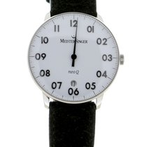 Meistersinger Neo Q Steel 36mm White Arabic numerals